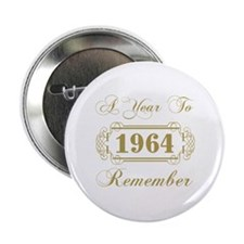 "1964 A Year To Remember 2.25"" Button (10 pack)"