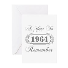 1964 A Year To Remember Greeting Cards (Pk of 10)