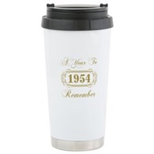 1954 A Year To Remember Travel Mug