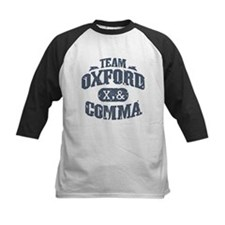 Team Oxford Comma Tee