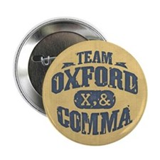 "Team Oxford Comma 2.25"" Button (100 pack)"