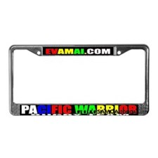 Unique Rugby team License Plate Frame