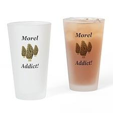 Morel Addict Drinking Glass