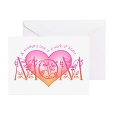 Work Of Heart Mom Greeting Cards (Pk of 10)