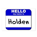 hello my name is holden  Postcards (Package of 8)