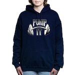 Pump it png.png Hooded Sweatshirt
