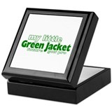 Little Green Jacket Keepsake Box