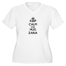 Keep Calm and HUG Zaria Plus Size T-Shirt