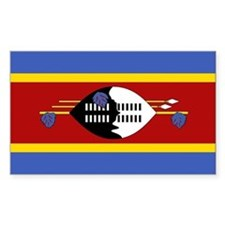 Swaziland Flag Decal