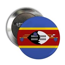 Swaziland Flag 2.25&Quot; Button