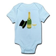 New Years Champagne Body Suit