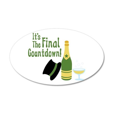 Its The Final Countdown! Wall Decal