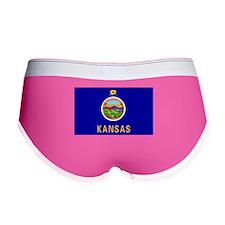 Kansas flag Women's Boy Brief