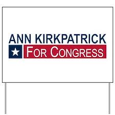 Elect Ann Kirkpatrick Yard Sign