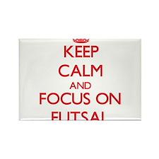Keep calm and focus on Futsal Magnets