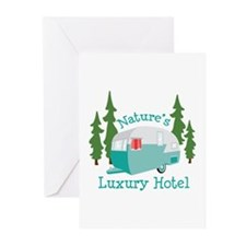 Natures Luxury Hotel Greeting Cards
