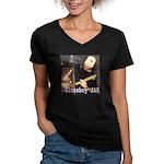 bluesboy JAG Women's V-Neck Dark T-Shirt