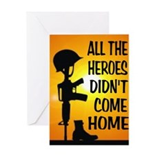 HEROES TRIBUTE Greeting Cards