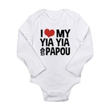 I Love My Yia Yia and Papou Body Suit