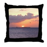 Sunset over KEY WEST Throw Pillow