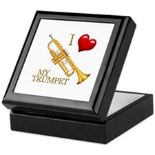 I Love My TRUMPET Keepsake Box