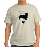 welsh corgi heart Light T-Shirt
