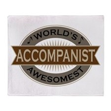 Awesome Accompanist Throw Blanket