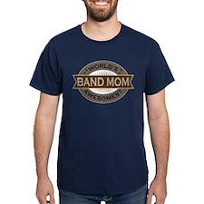 Awesome Band Mom Dark T-Shirt