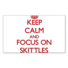 Keep calm and focus on Skittles Decal