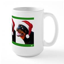 Santa Rottie Mug