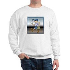 mailCarrierWhMaleTile.png Sweatshirt
