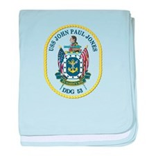 USS John Paul Jones (DDG-53) baby blanket