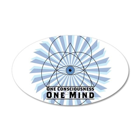 3rd Eye - One Consciousness One Mind Wall Decal