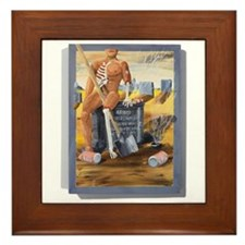 Early Retirement Framed Tile