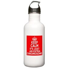 Stay Calm Chromosome Water Bottle