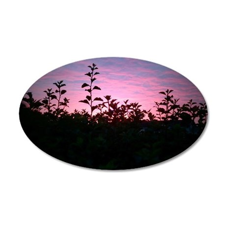 Sunrise Silhouette Wall Decal