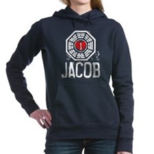 I Heart Jacob - LOST Woman's Hooded Sweatshirt