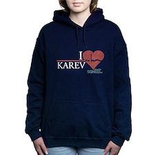 I Heart Karev - Grey's Anatomy Woman's Hooded Swea