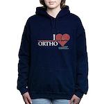 I Heart Ortho - Grey's Anatomy Woman's Hooded Sweatshirt