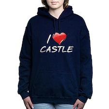 I Heart Castle Woman's Hooded Sweatshirt