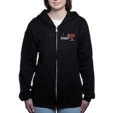 I Heart Karev Women's Zip Hoodie