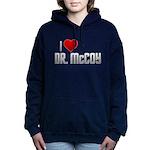 I Heart Dr. McCoy Woman's Hooded Sweatshirt
