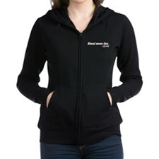 Blood Never Lies - Dexter Women's Zip Hoodie
