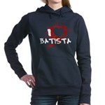 I Heart Batista - Dexter Woman's Hooded Sweatshirt
