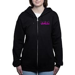 Retro Trick Women's Zip Hoodie