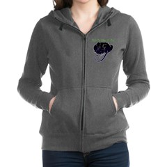 Wake Me When It's Over Women's Zip Hoodie