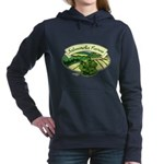 Salmonella Farms - Cilantro Woman's Hooded Sweatshirt