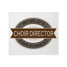 Awesome Choir Director Throw Blanket