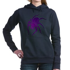 Purple Spider Woman's Hooded Sweatshirt