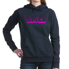 Retro Trick Woman's Hooded Sweatshirt